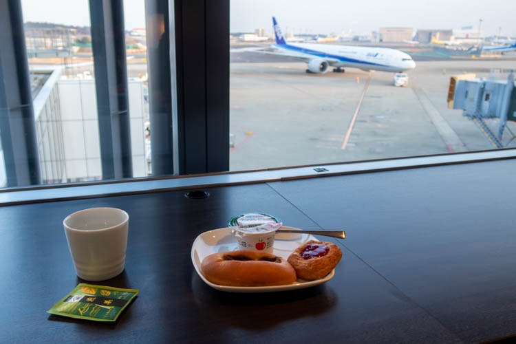 ANA Lounge Terminal 1 Narita