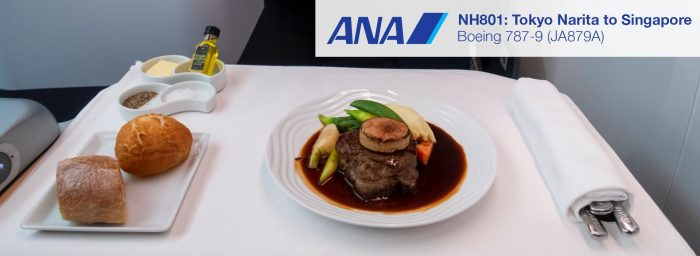 Review: ANA 787-9 Business Class from Tokyo Narita to Singapore