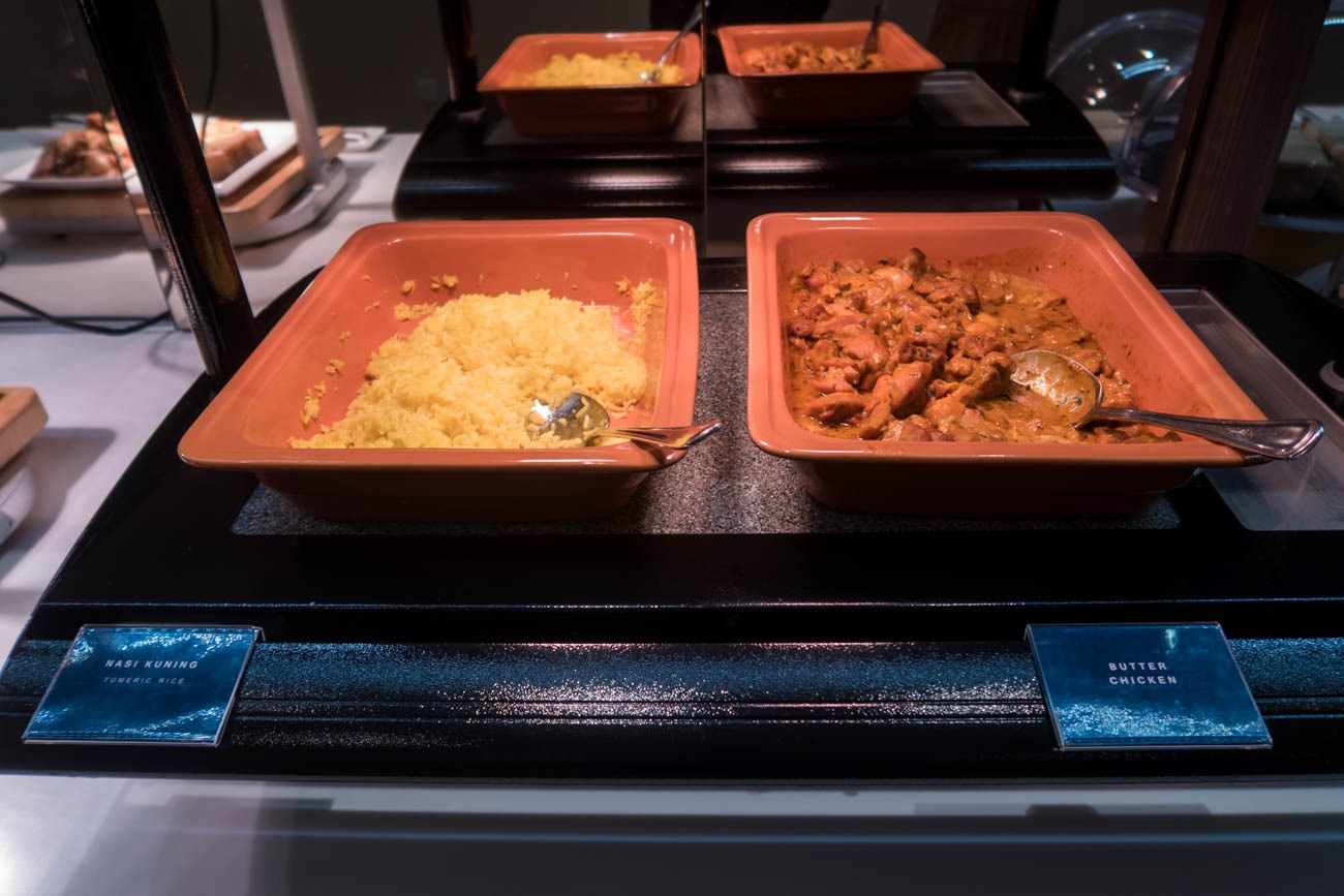 Dnata Lounge Singapore Changi Terminal 1 Seating Curry