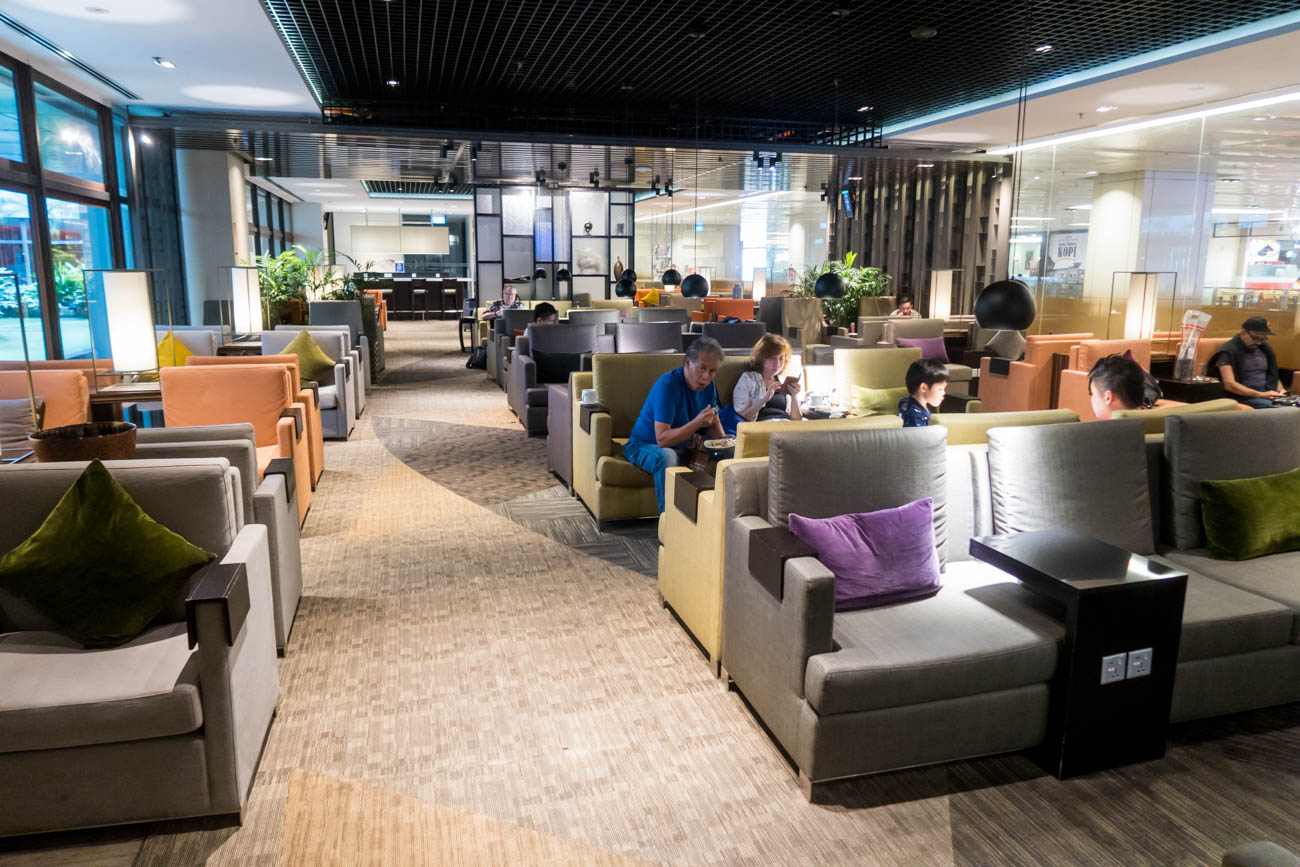 Dnata Lounge Singapore Changi Terminal 1 Seating