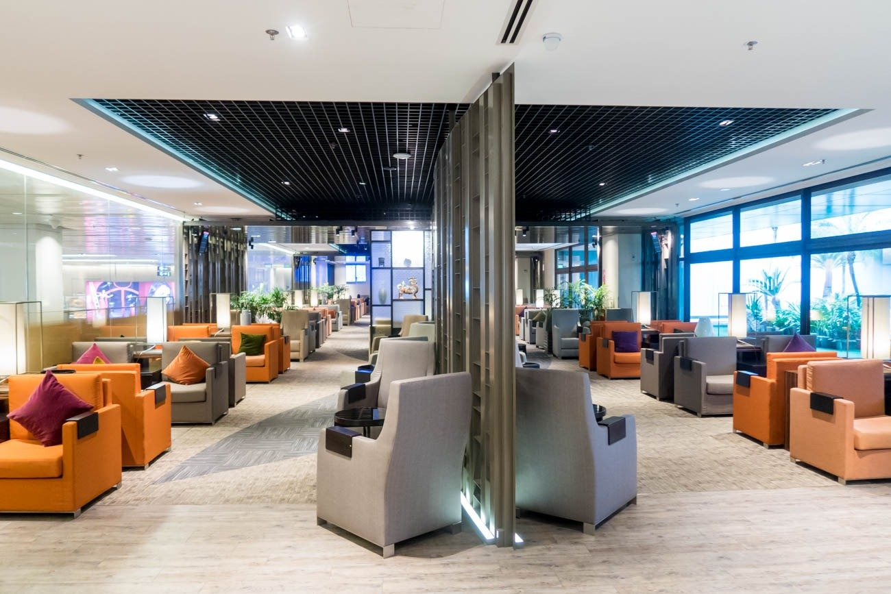 Dnata Lounge Singapore Changi Terminal 1 Overview