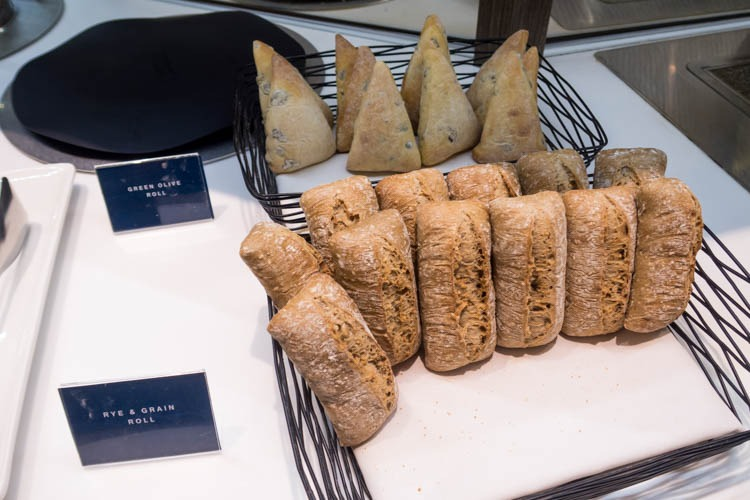 Dnata Lounge Singapore Changi Terminal 1 Bread