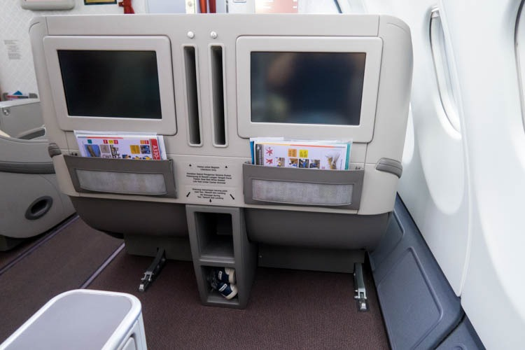 Garuda Indonesia A330-300 Business Class Seats