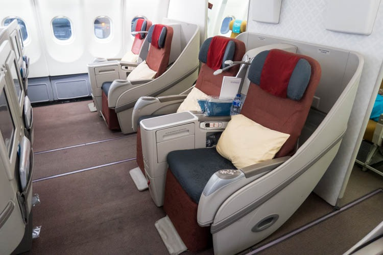 Garuda Indonesia Airbus A330-300 Business Class Seats