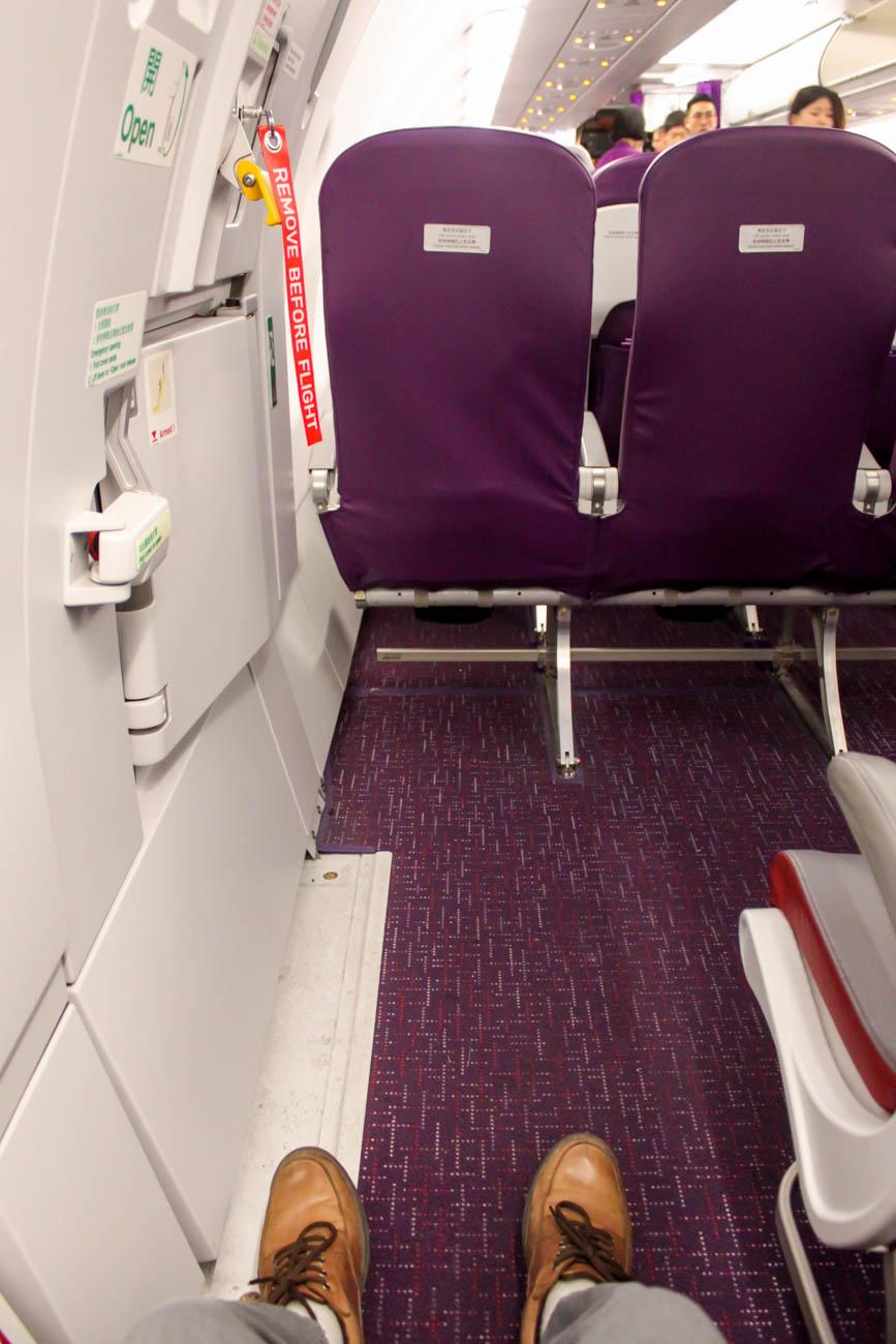 HK Express Sweet Seat Legroom
