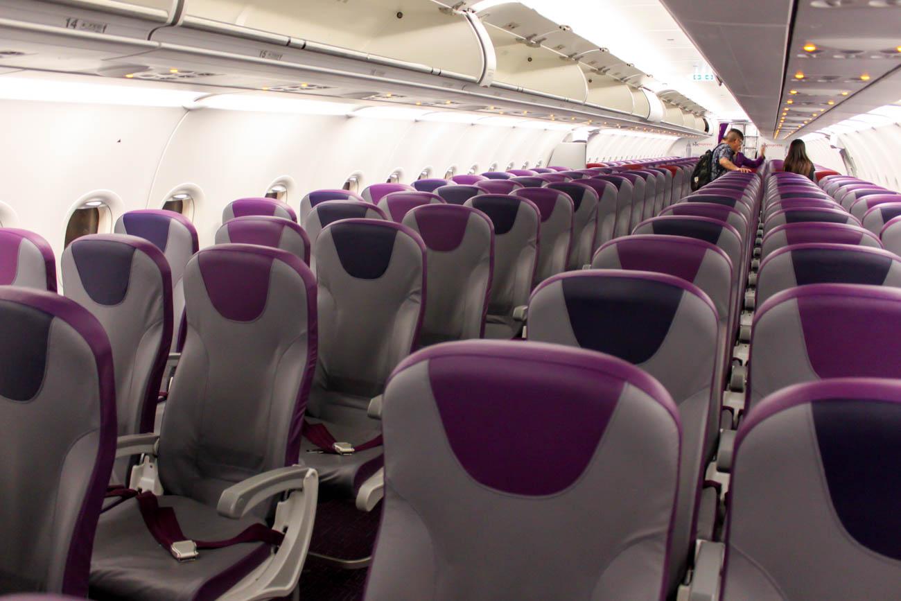 Hong Kong Express Airbus A321 Cabin