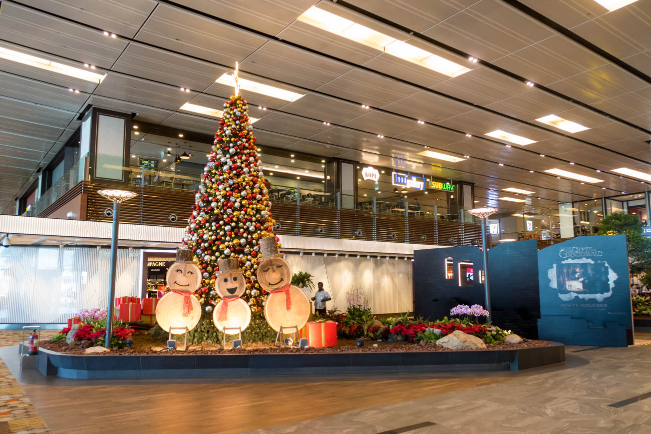 Christmas Decorations at Changi Airport