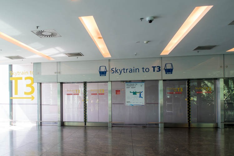 Singapore Changi Airport Skytrain