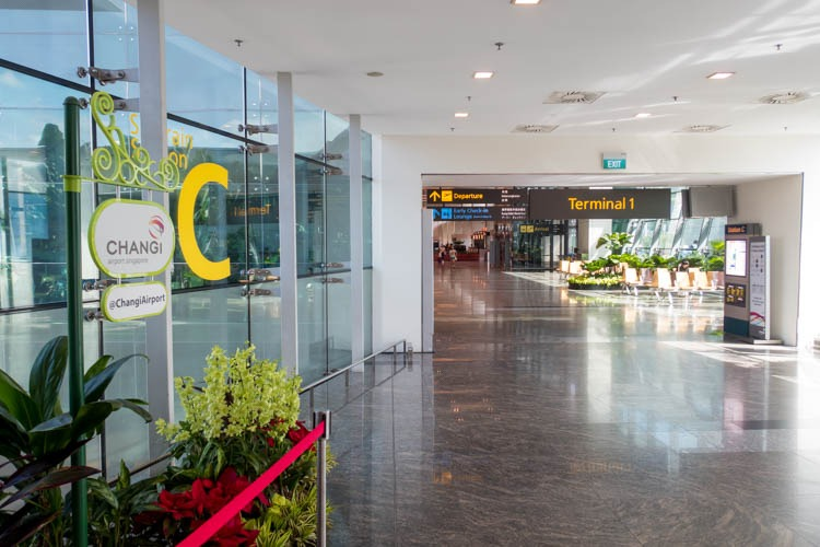 Singapore Changi Airport Terminal 1