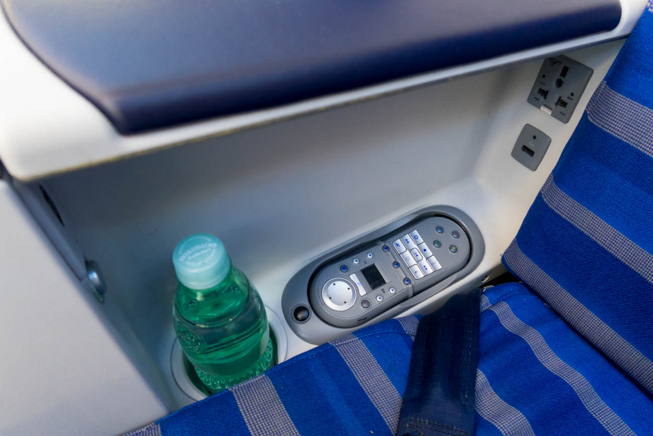 LOT Polish Airlines Business Class Seat IFE Remote