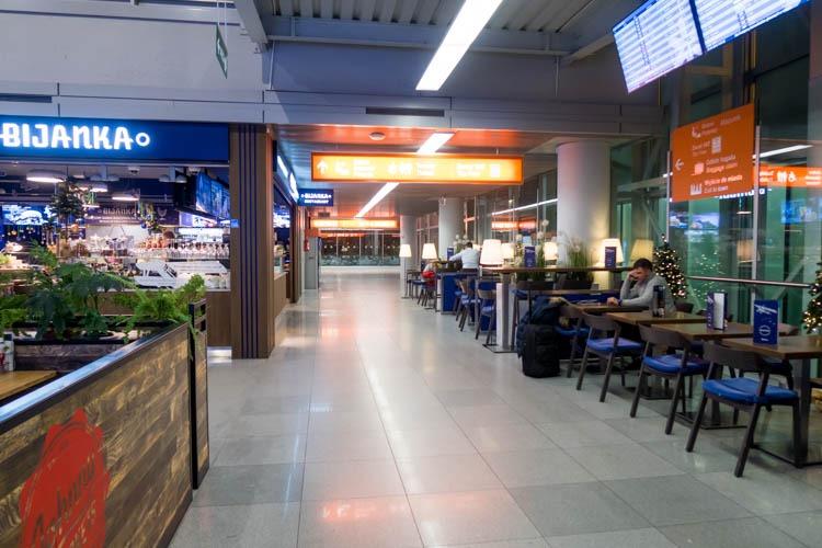Warsaw Airport Terminal
