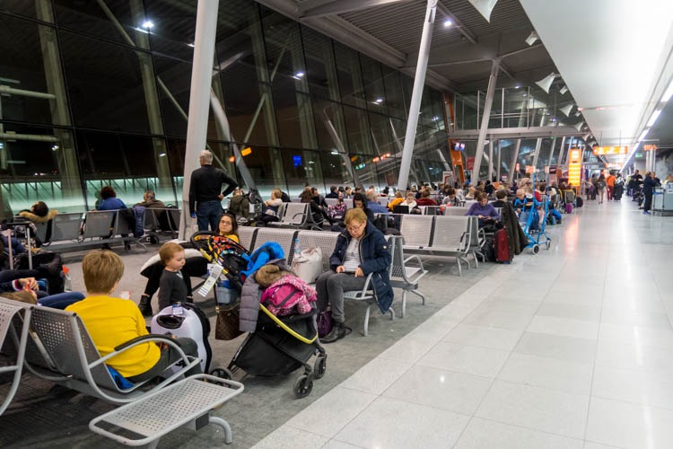 Non-Schengen Part of Warsaw Airport