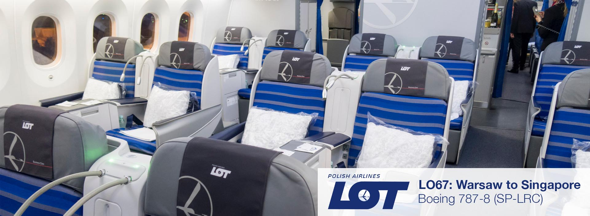 Review: LOT 787-8 Business Class from Warsaw to Singapore