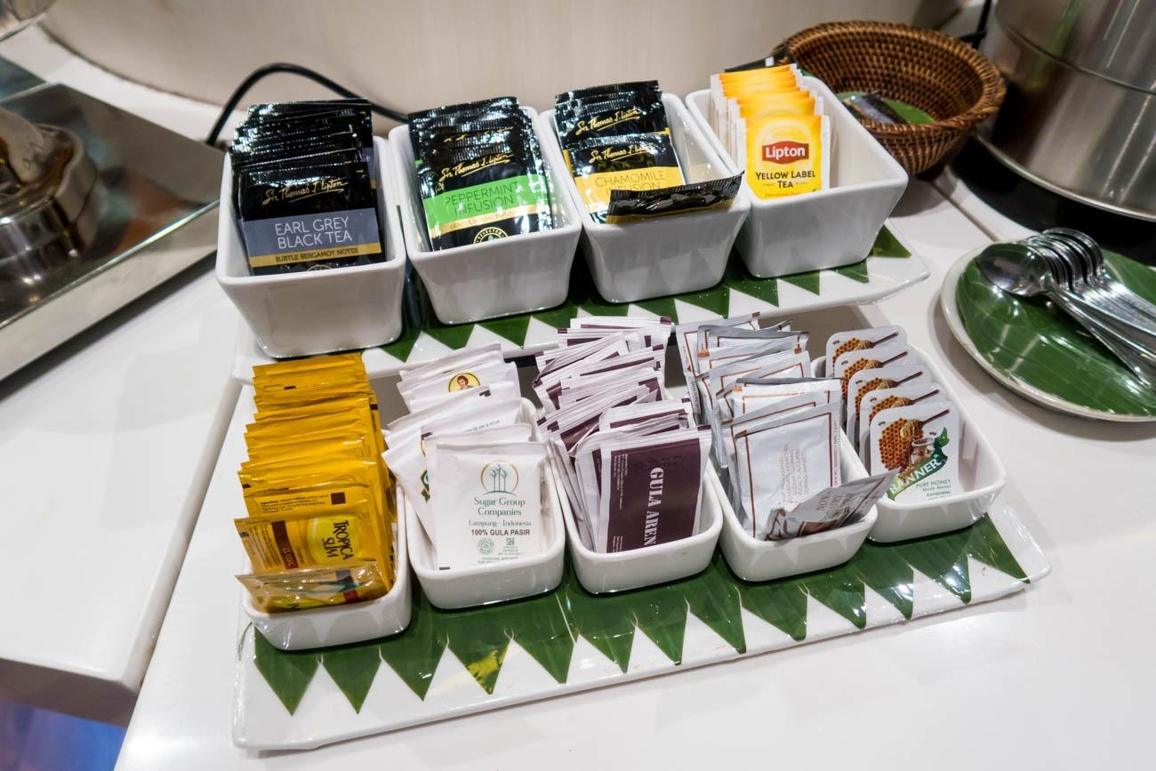 Premier Lounge Bali Tea