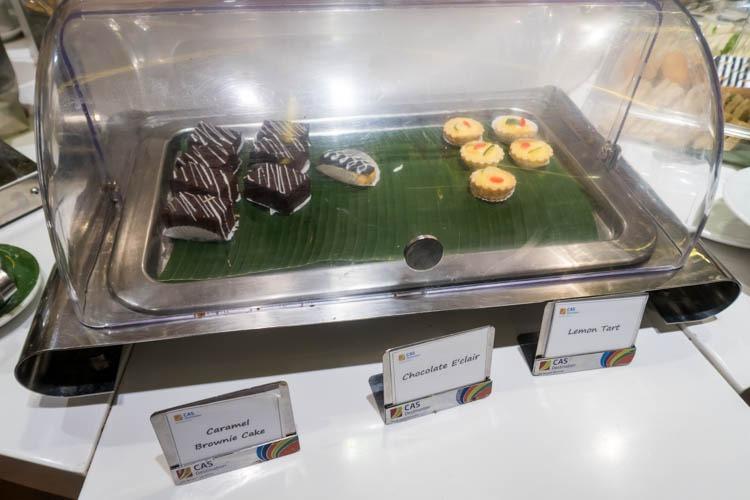 Premier Lounge Bali Desserts