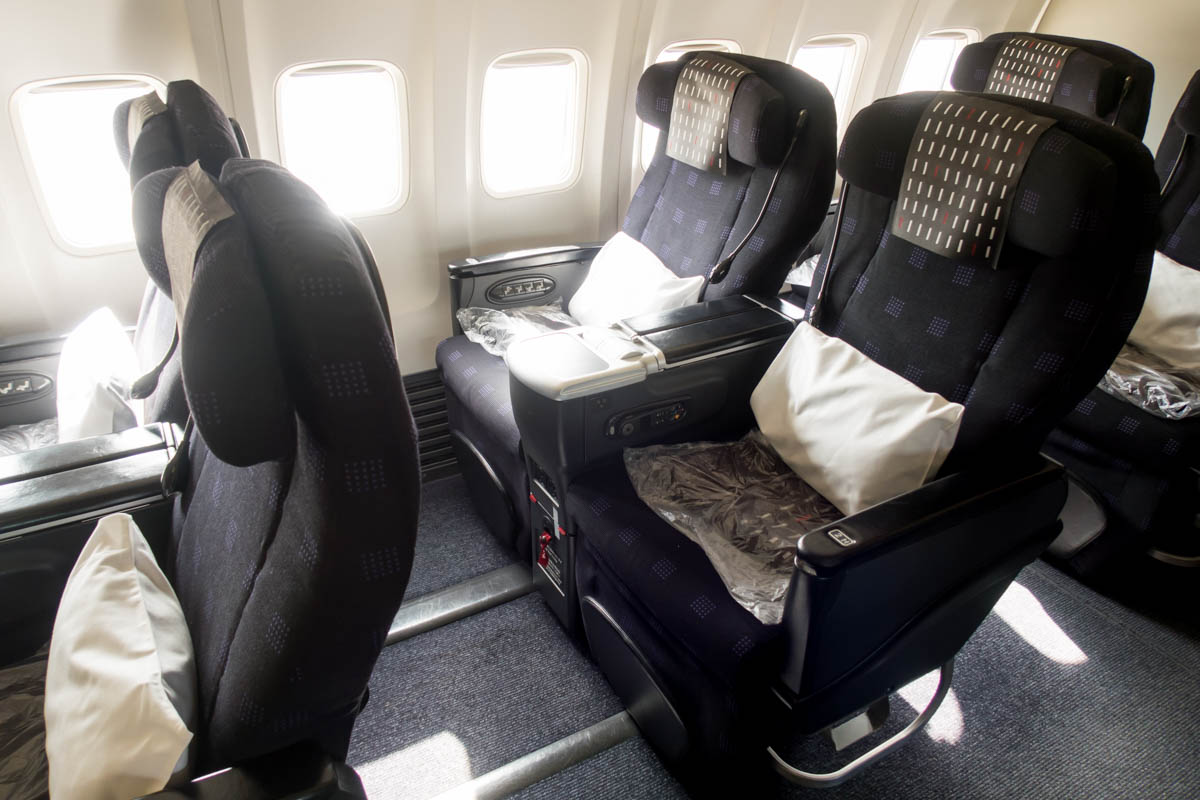 Business Class Recliner Seat
