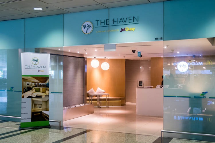 The Haven by JetQuay at Singapore Changi Airport - Entrance