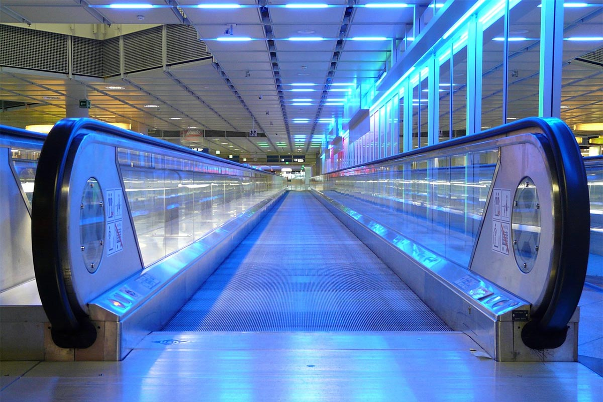 Airspeed vs. Ground Speed: The Moving Walkway Analogy