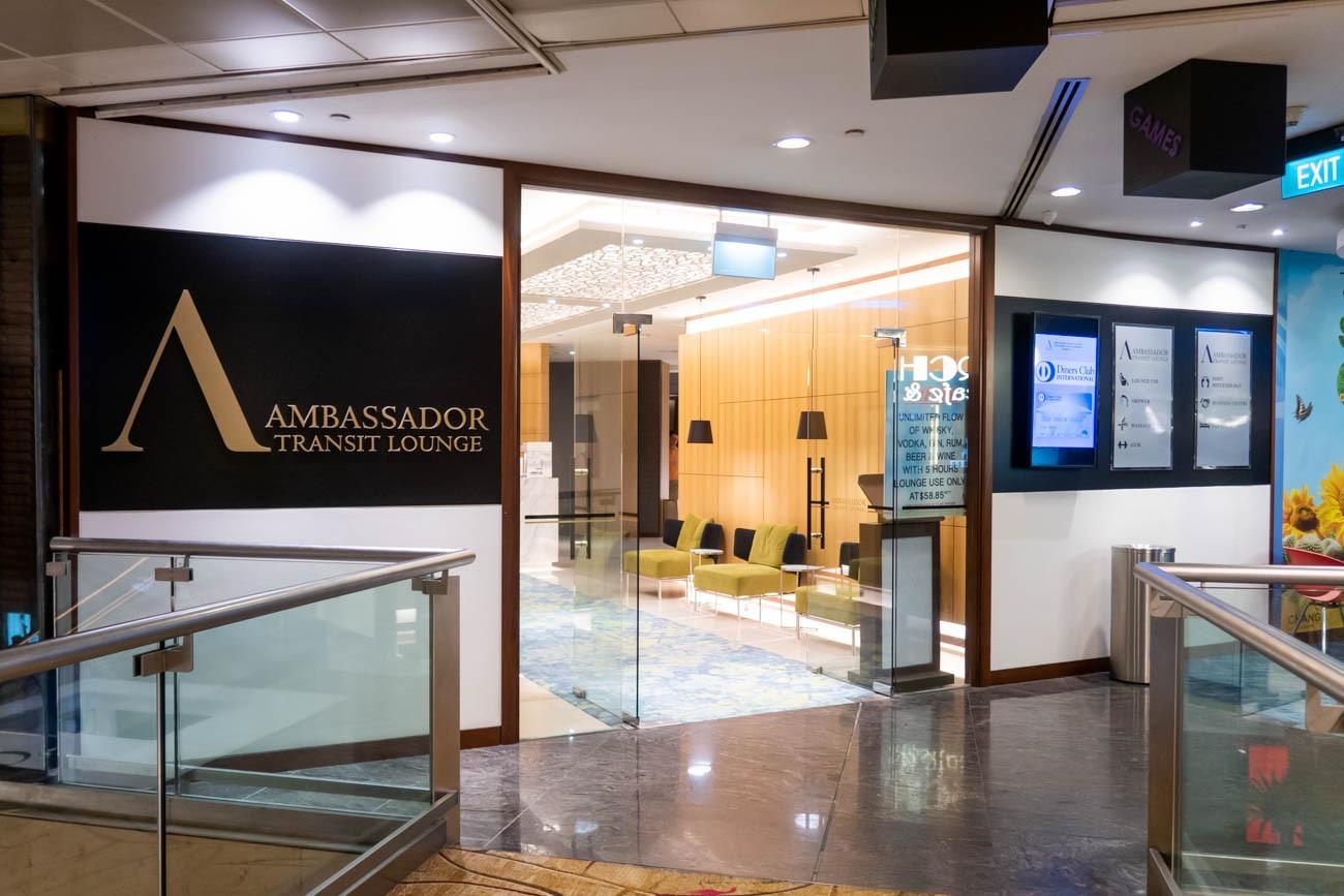 Ambassador Transit Lounge Changi Airport T2