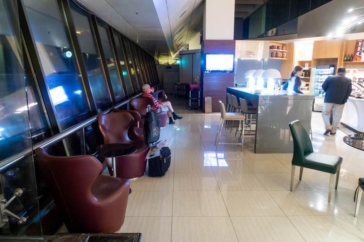 Ambassador Transit Lounge Changi Airport T2 Dining Area