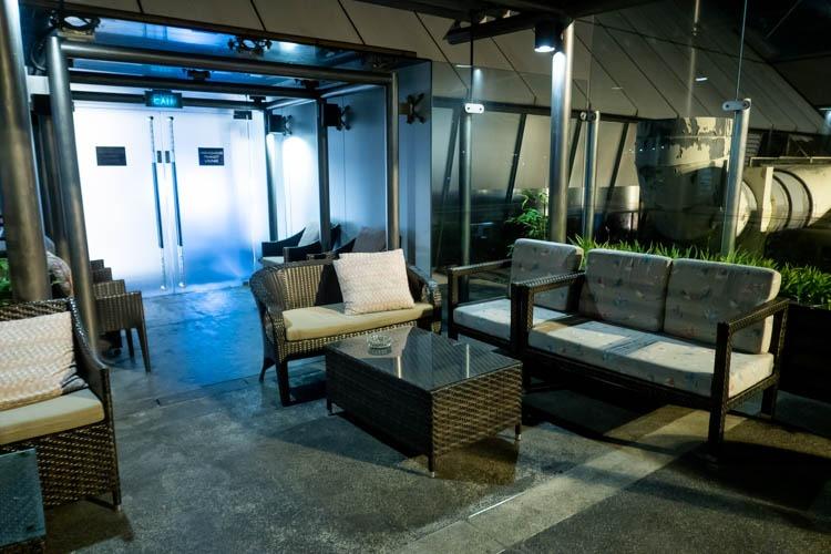Ambassador Transit Lounge Changi Airport T2 Terrace
