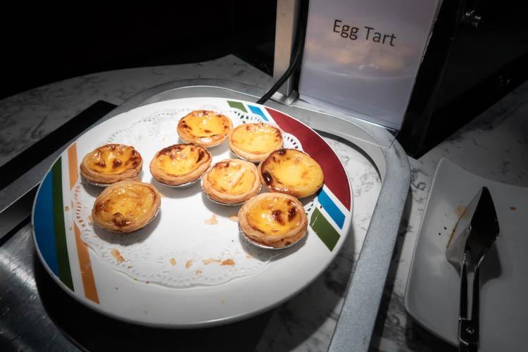 Ambassador Transit Lounge Changi T2 Egg Tarts