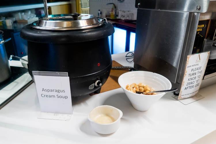 Ambassador Transit Lounge Changi T2 Soup