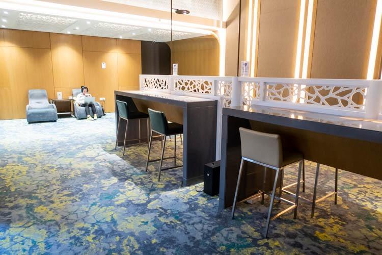 Ambassador Transit Lounge Changi Airport T2 Seating