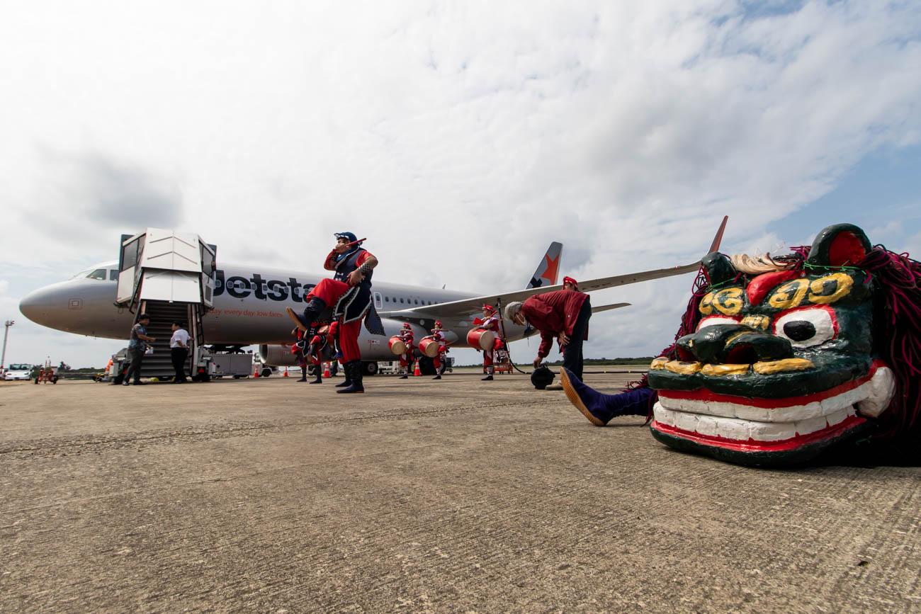 Jetstar Japan Welcome at Shimojishima