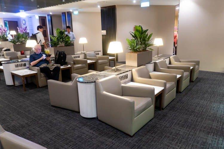 SATS Premier Lounge Singapore Terminal 2 Seating