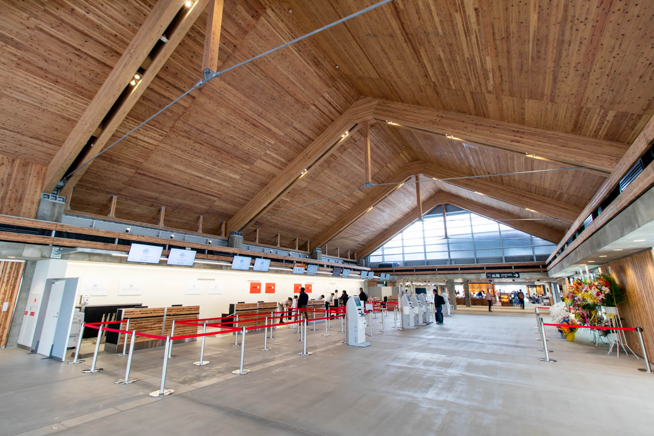 Shimojishima Airport Check-in Hall