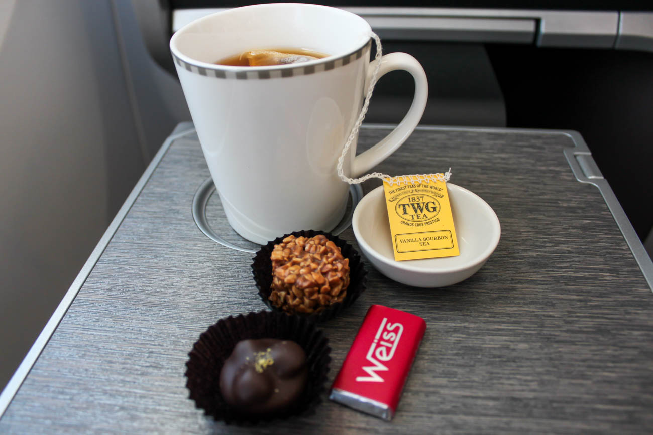 Singapore Airlines Business Class TWG Tea