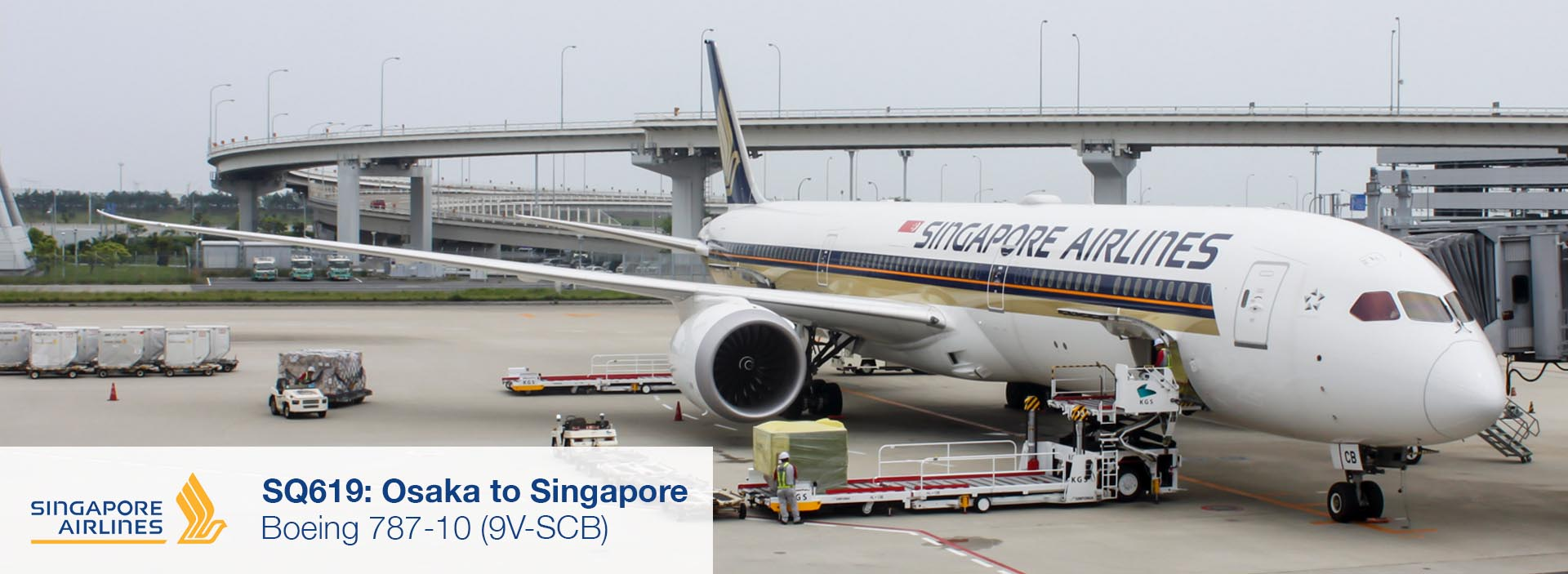 Review: Singapore Airlines 787-10 Business Class from Osaka Kansai to Singapore