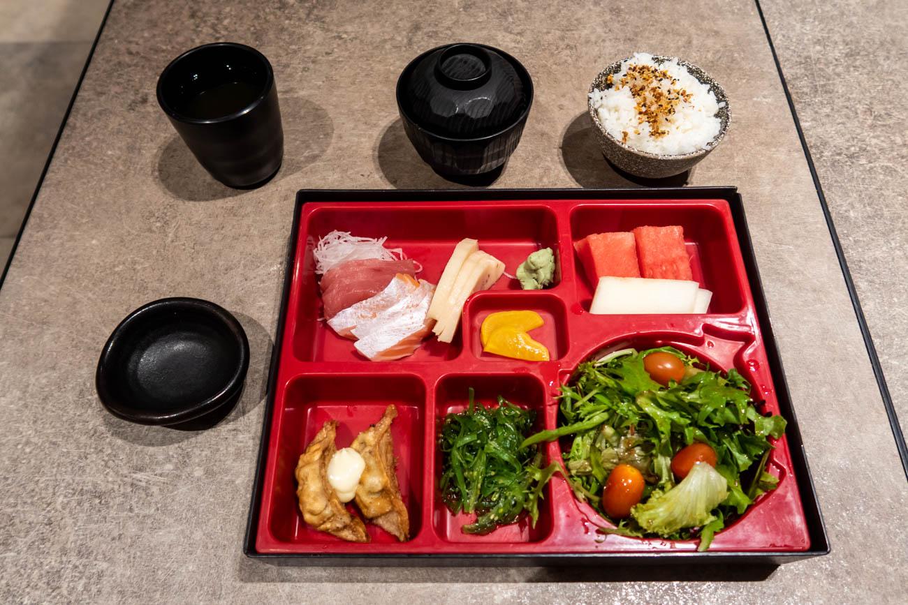 TGM Sashimi Bento Set with Priority Pass