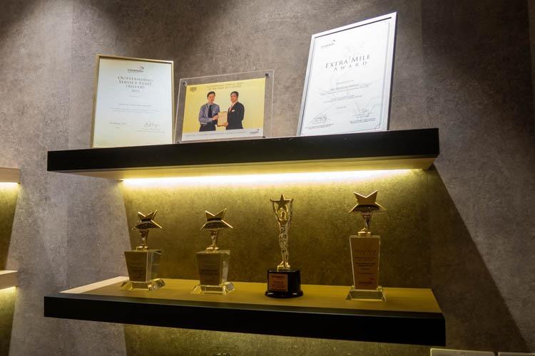 Singapore Airport TGM Restaurant Awards