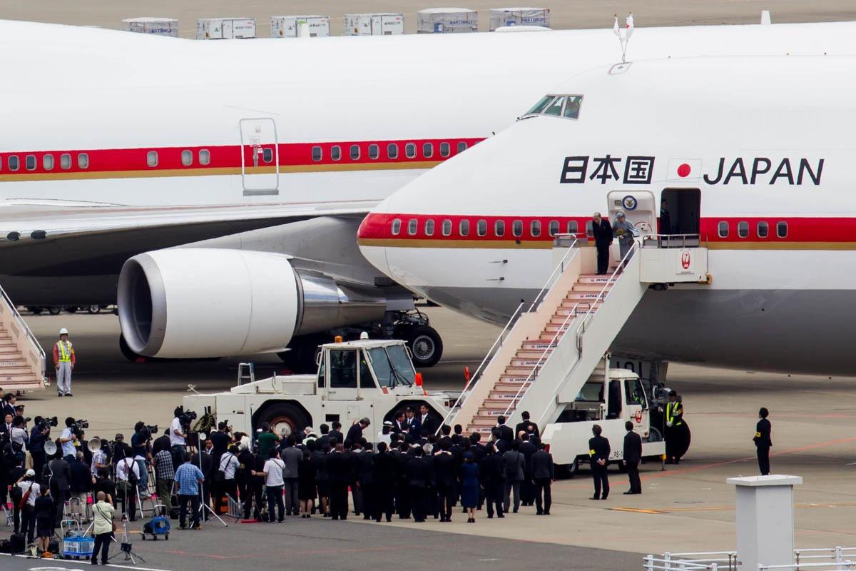 Boeing 747 VIP Transport Plane