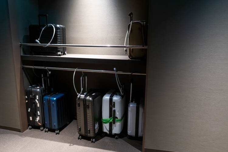 First Cabin Kansai Airport Luggage Storage