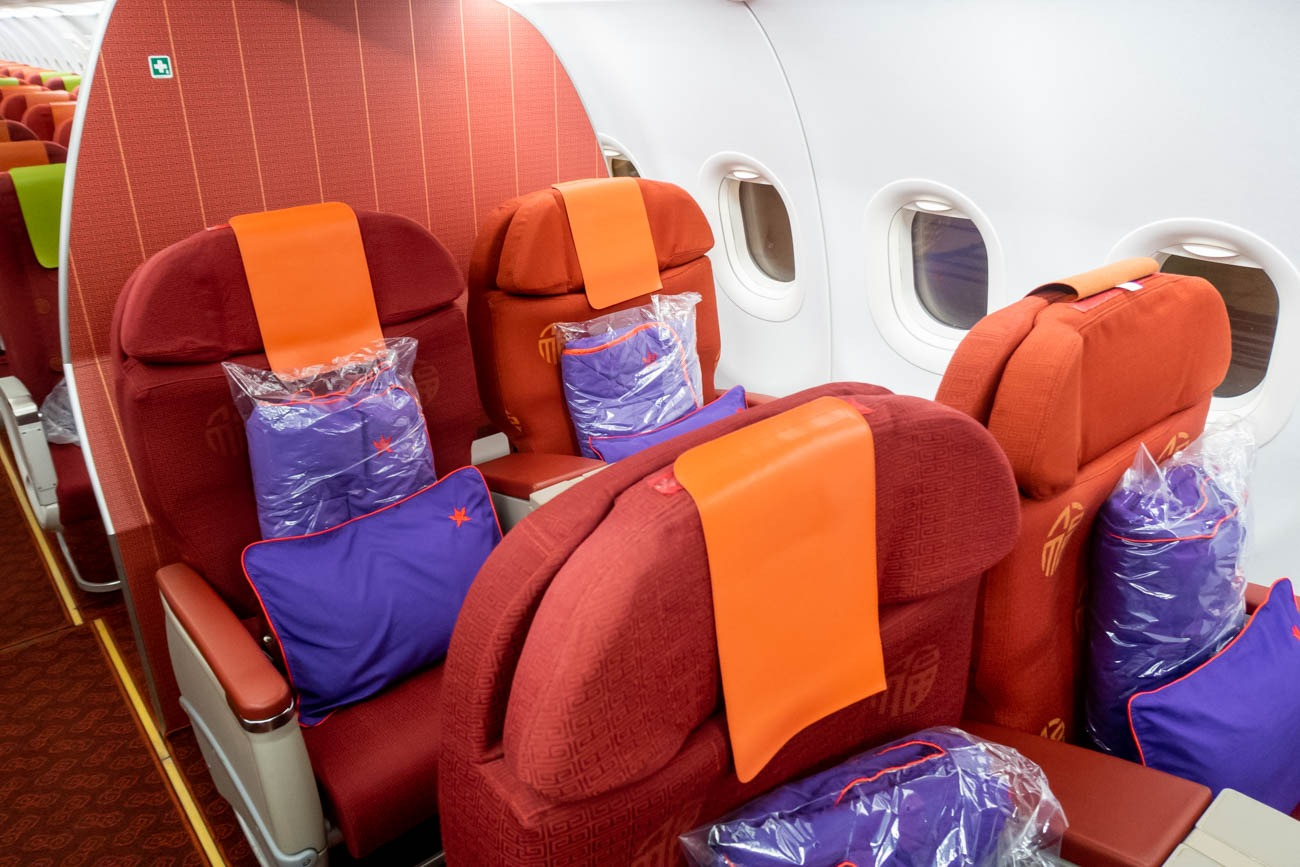 Hong Kong Airlines Airbus A320 Business Class