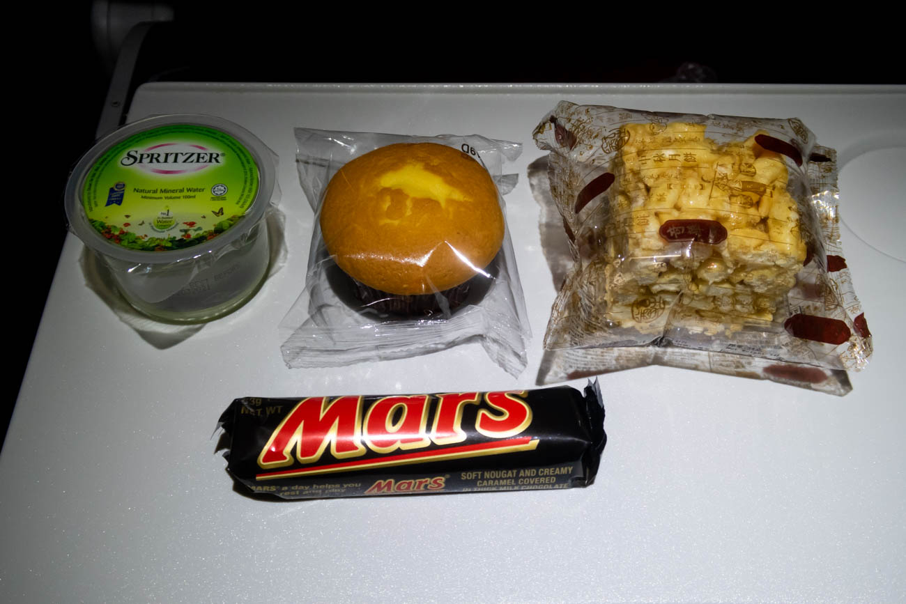 Hong Kong Airlines Red-Eye Economy Class Snack
