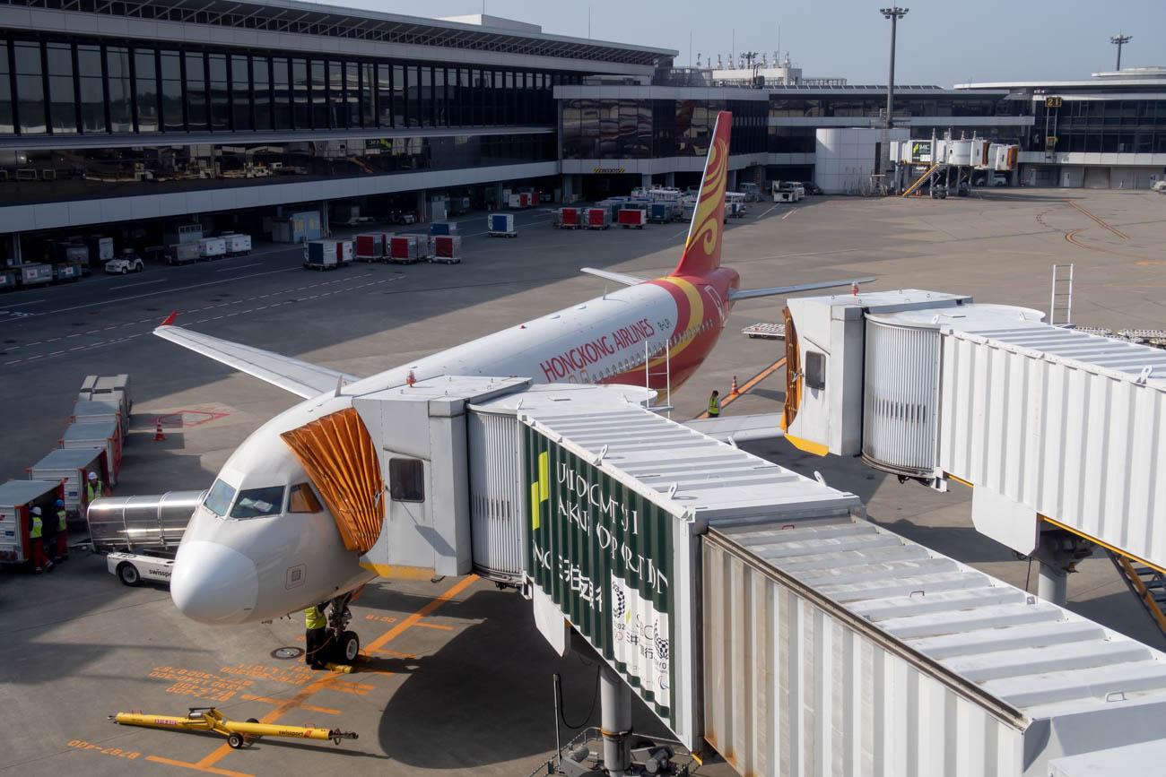 Hong Kong Airlines Airbus A320 at Tokyo Narita Airport