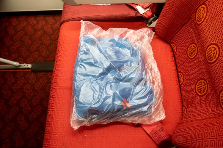 Hong Kong Airlines Economy Class Blanket
