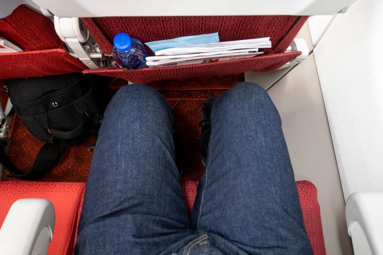 Hong Kong Airlines Airbus A320 Economy Class Legroom