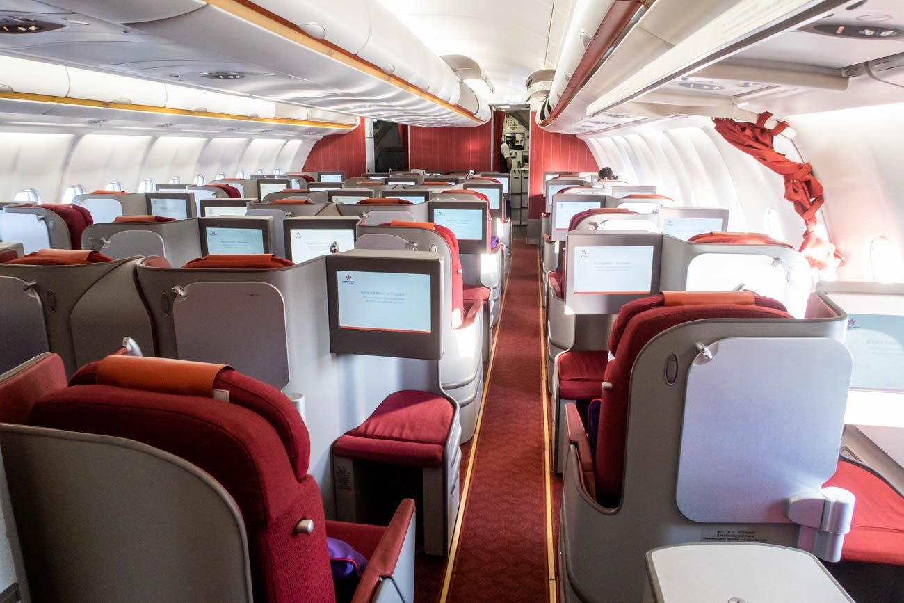 Hong Kong Airlines Airbus A330-300 Business Class