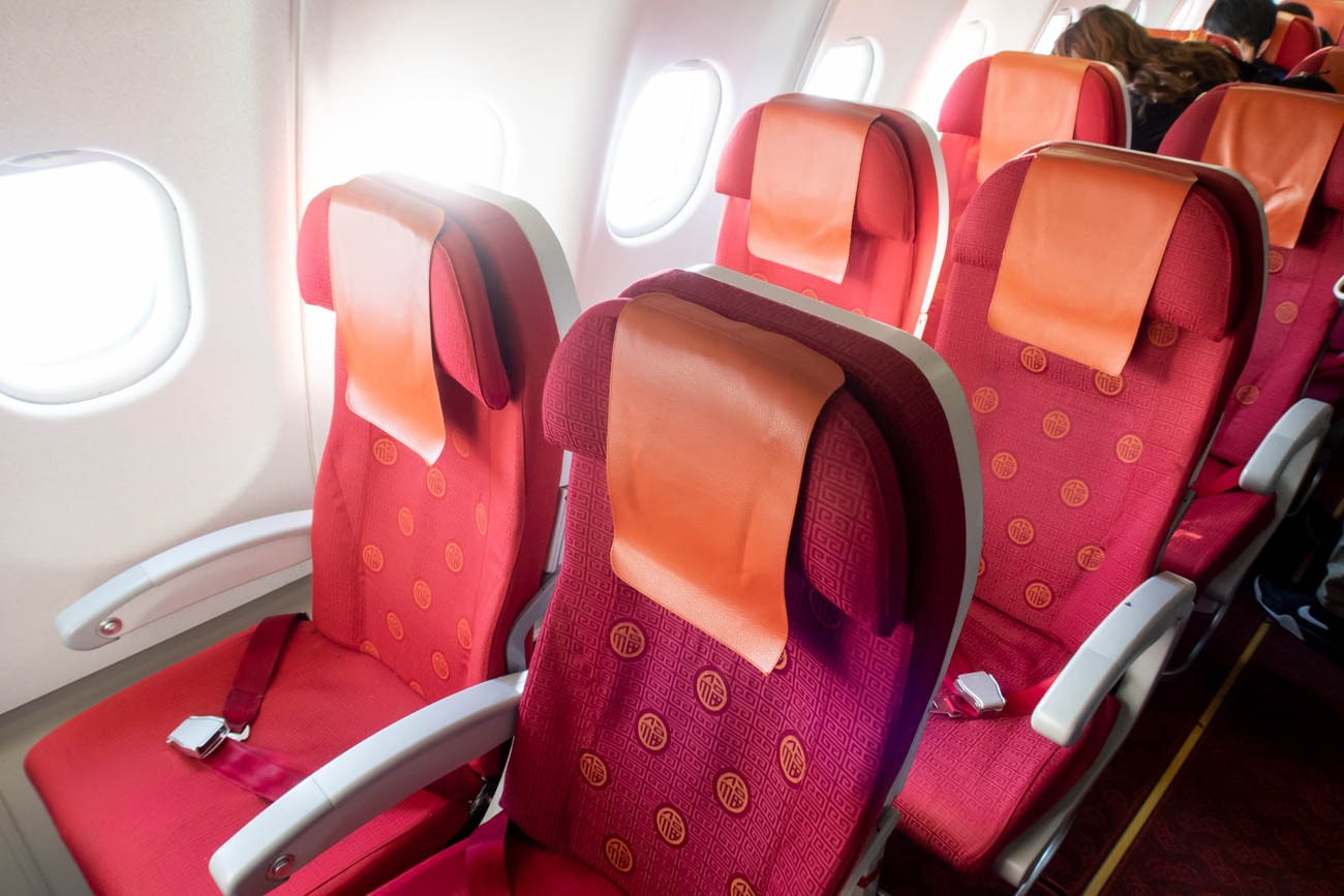 Hong Kong Airlines Airbus A330-300 Economy Class
