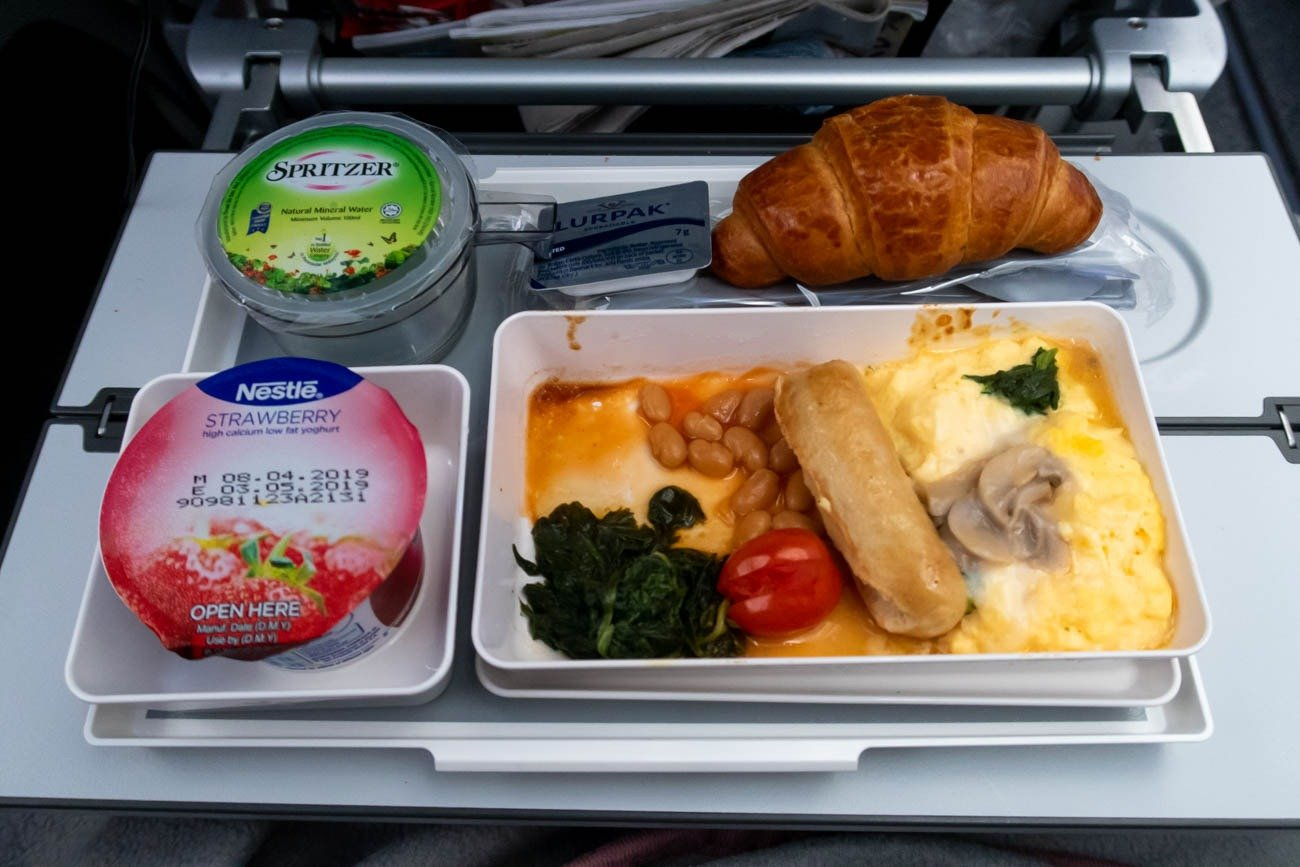 Hong Kong Airlines Economy Class Meal (Breakfast)
