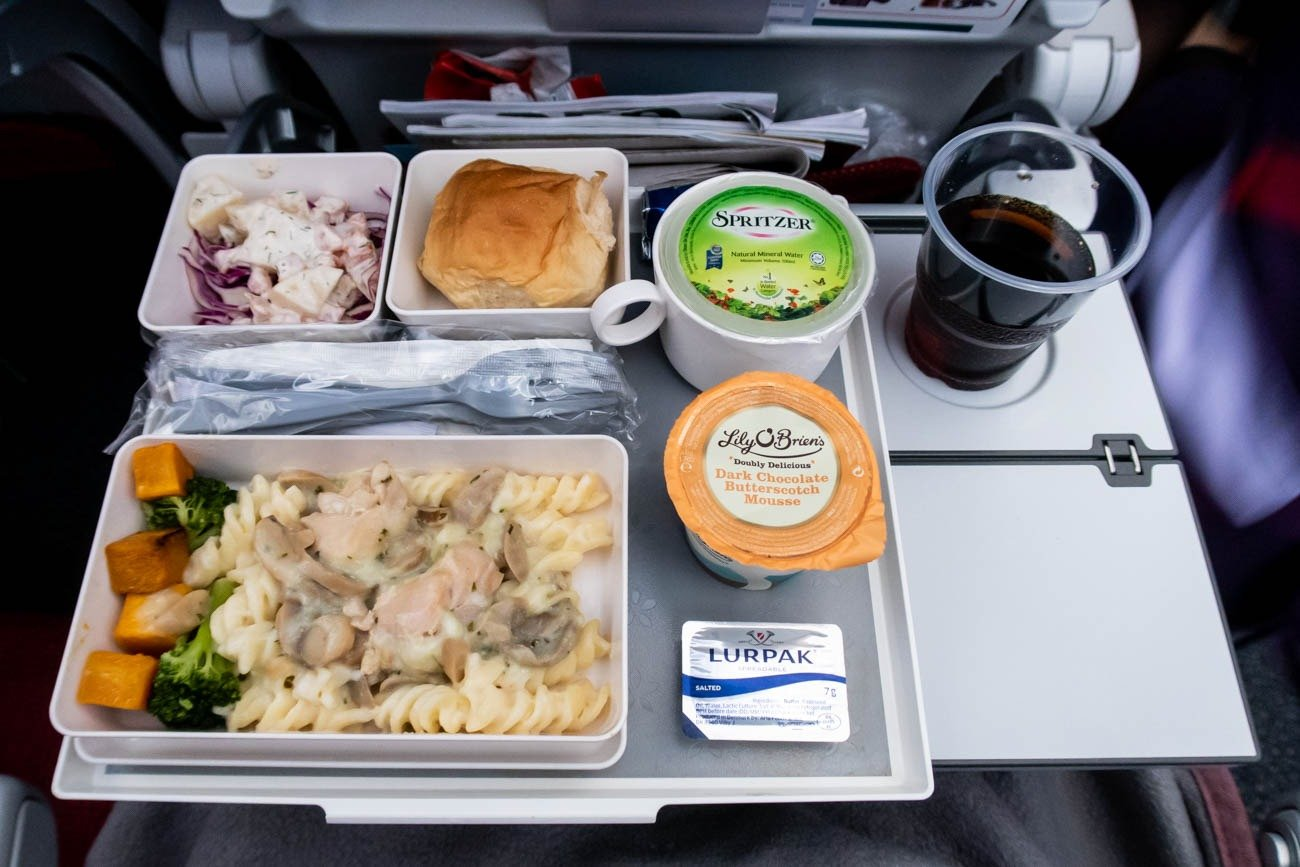 Hong Kong Airlines Economy Class Meal (Lunch)