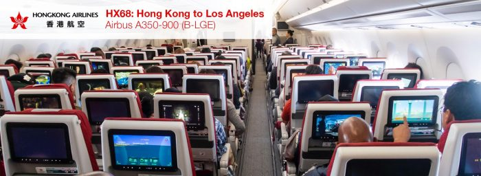 Review: Hong Kong Airlines A350-900 Economy Class from Hong Kong to Los Angeles