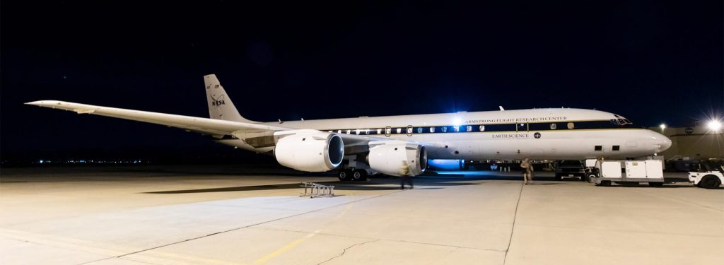 Trip Preview: Visiting Palmdale to Fly on NASA's DC-8