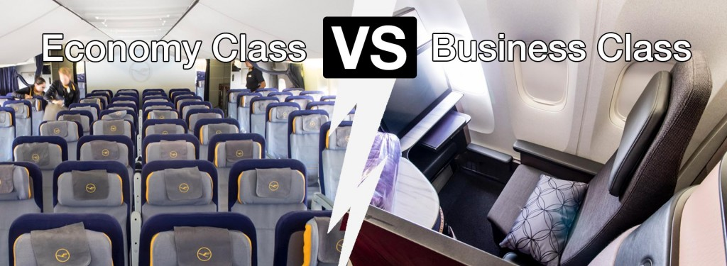 Economy Class vs. Business Class: What Are the Differences and Is It Worth Paying More for the Latter?