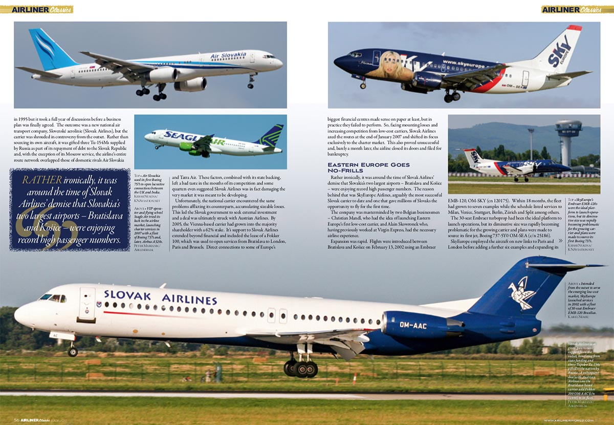Airliner Classics - Slovakian Skies (Written by: Keishi Nukina)